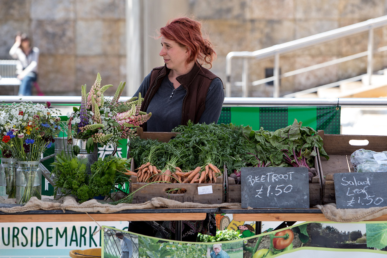 Become a trader at the Harbourside Market!