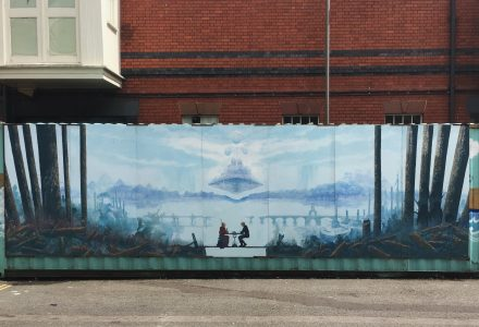 New Mural at the Harbourside