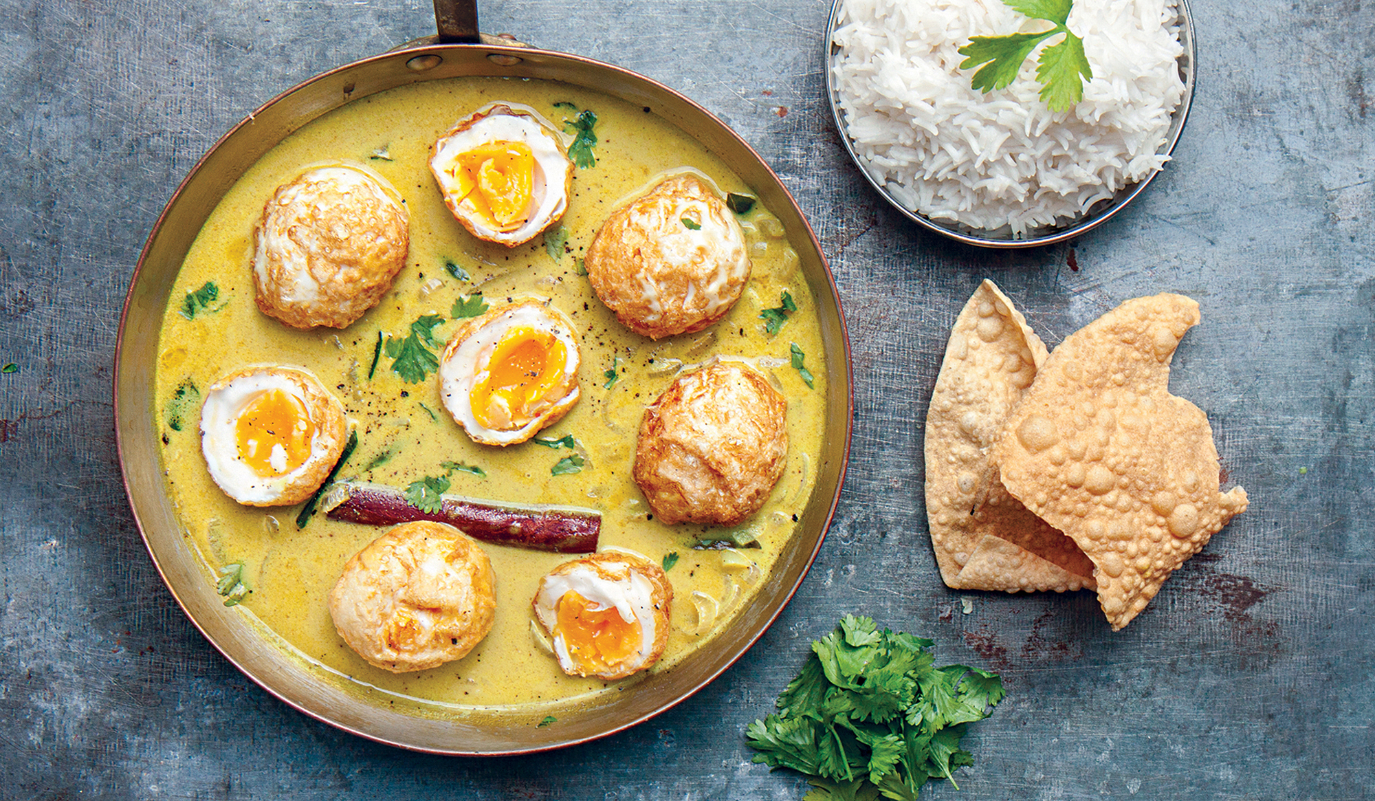 DEEP FRIED EGG CURRY - the locals cookbook