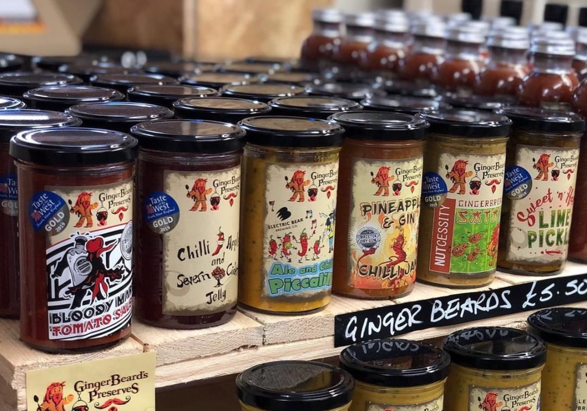 Gingerbeard's Preserves The Harbourside Market